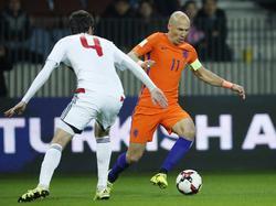 Arjen Robben wird die WM wohl nur als Zuschauer verfolgen