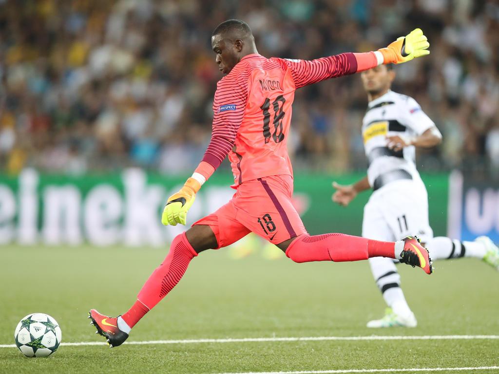 Yvon Mvogo könnte künftig bei RB Leipzig unter Vertrag stehen