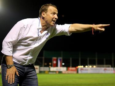ÖFB-U17-Teamchef Rupert Marko ist mit den Seinen auf Kurs