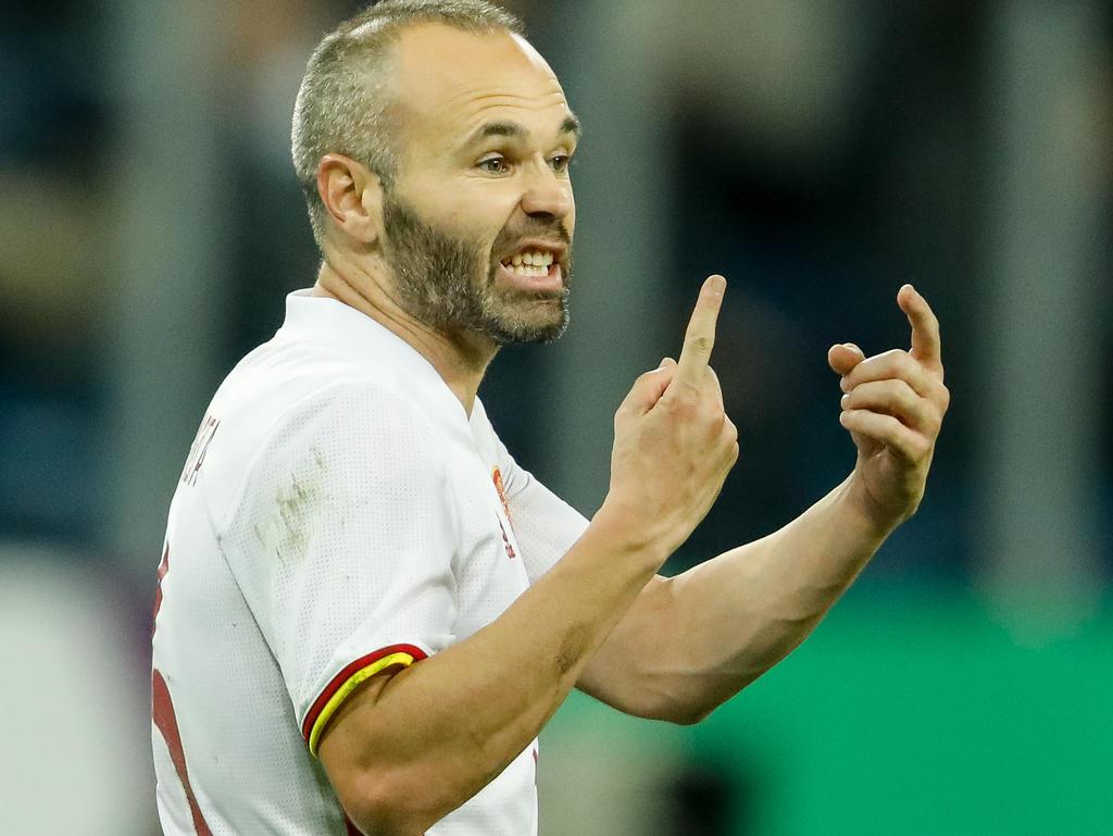 Andrés Iniesta berichtet über Druck im Profi-Fußball