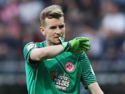 Torwart Hrádecký wird die Frankfurter Eintracht am Saisonende verlassen