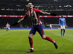 Imagen del Atlético - Lleida de Copa del Rey. (Foto: Getty)
