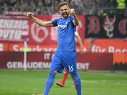 Lukas Hinterseer traf für den VfL Bochum zum zwischenzeitlichen Ausgleich