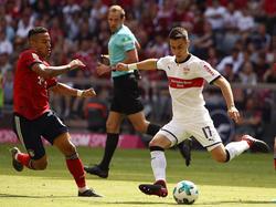 Erik Thommy (r.) spielte beim VfB Suttgart zuletzt prächtig auf