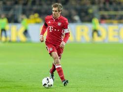 Lahm musste gegen den BVB nach einer guten Stunde vom Feld