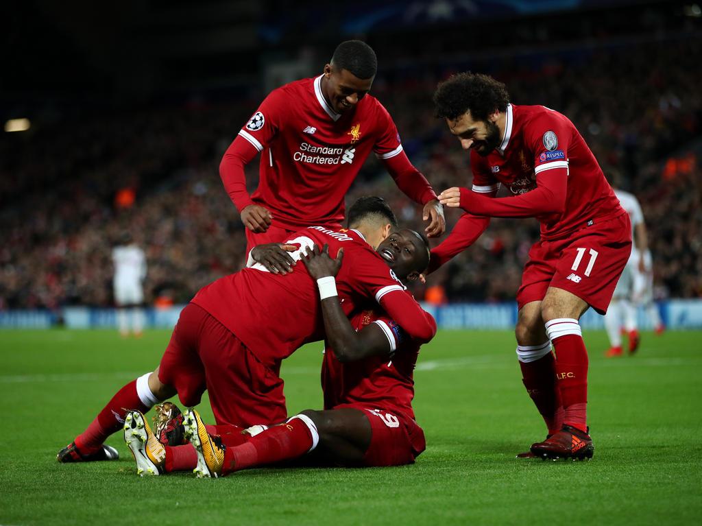 Liverpool war das fünfte englische Team, das sich für die K.o.-Phase qualifizierte