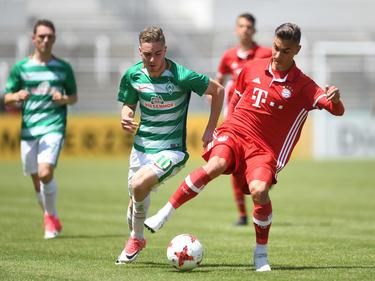 Marcel Zylla (r.) brachte den FC Bayern München auf die Siegerstraße