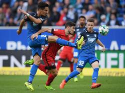 Die TSG Hoffenheim musste sich gegen Berlin mit einem Remis zufrieden geben