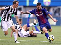 Zuletzt begegneten sich Barça und Juve im Champions-League-Viertelfinale im April 2017.