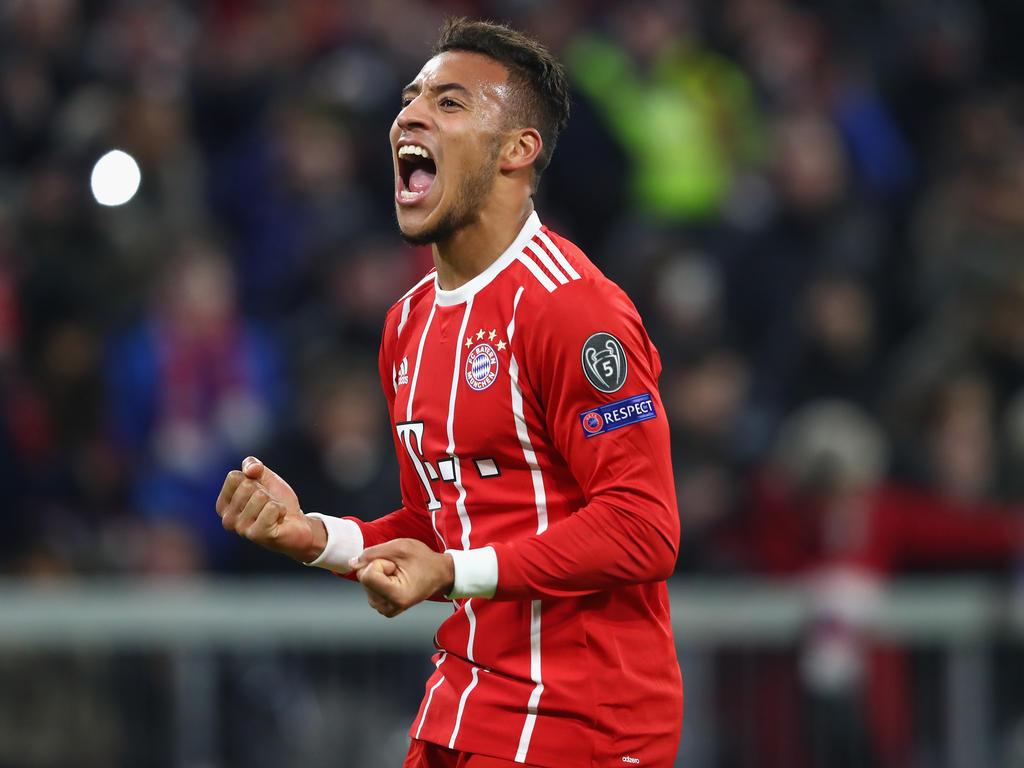 Mit zwei Toren am Bayern-Sieg beteiligt: Corentin Tolisso