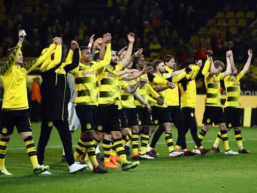 El Dortmund es tercero de la Bundesliga con 45 unidades. (Foto: Getty)