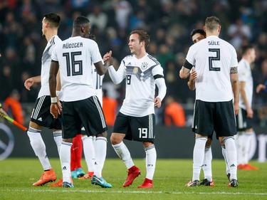Die DFB-Elf steht weiter an der Spitze der Weltrangliste