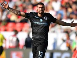 Sascha Mölders will mit 1860 München in die 3. Liga