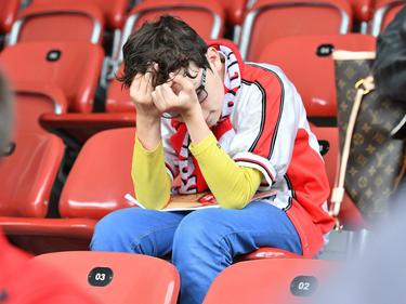 Fans des FC Energie Cottbus fürchten um das Spiel ihres Vereins