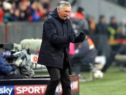 Carlo Ancelotti feierte die beste Saisonleistung seiner Bayern