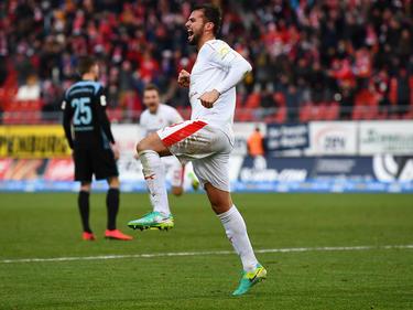 Fabian Eisele erzielte zwei Tore für den FSV