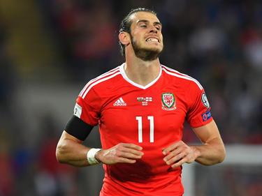 Gareth Bale udn Wales mussten sich mit einem 1:1 begnügen