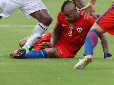 Arturo Vidal wurde bei Chile verletzt ausgewechselt