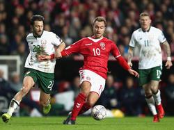 Los daneses fueron superiores pero Irlanda resistió. (Foto: Getty)