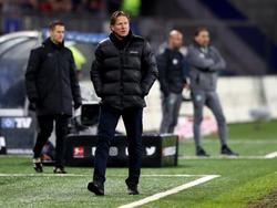 Markus Gisdol steht beim Hamburger SV unter Druck