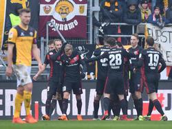 Der FC Ingolstadt siegte in einem Torfestival gegen Dresden