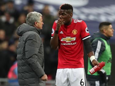 José Mourinho und Paul Pogba sollen ein angespanntes Verhältnis haben
