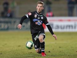 Marc Andre Schmerböck verlässt Sturm Graz in Richtung Wolfsberg