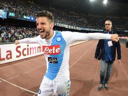 Dries Mertens hat seinen Vertrag in Neapel verlängert