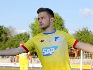 Yannick Thermann trägt künftig das Trikot der Stuttgarter Kickers