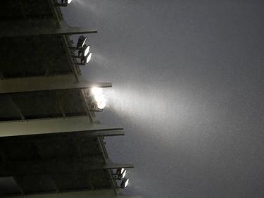 Aufgrund von Starkregens wurde die Partie in Tirana abgebrochen
