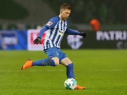 Steht bei Hertha BSC vor dem Abflug: U21-Europameister Mitchell Weiser