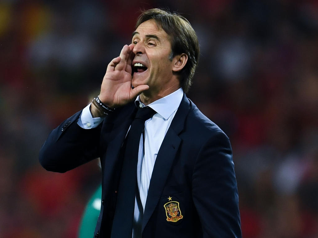 Julen Lopetegui wurde als Spaniens Nationalcoach entlassen