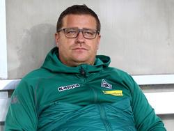 Max Eberl sieht seine Gladbacher Borussia vor einer spannenden Rückrunde