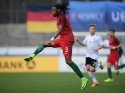 Semedo en un encuentro con la selección Sub-21 de Portugal. (Foto: Getty)