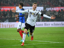Timo Werner erzielte den zwischenzeitlichen Ausgleich für das DFB-Team
