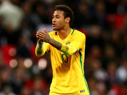 Bangt um sein WM-Teilnahme: Der Brasilianer Neymar