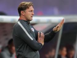 Ralph Hasenhüttl und RB Leipzig haben die Dreifachbelastung zu spüren bekommen