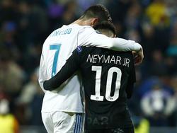 Sind Neymar und Cristiano Ronaldo bald Vereinskollegen?