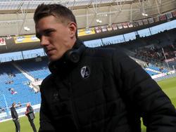 Nils Petersen vom SC Freiburg ist nach Gelb-Rot gesperrt