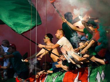 Grenzenloser Jubel bei den Fans von Lok Moskau