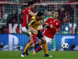 Mesut Özil ging mit Arsenal bei den Bayern unter