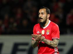 Kostas Mitroglou erzielte im Hinspiel den Siegtreffer gegen den BVB