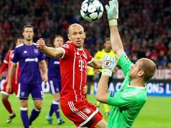 Arjen Robben äußerte sich nach dem Bayern-Sieg selbstkritisch