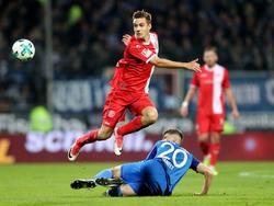 Florian Neuhaus ist vom DFB nachträglich gesperrt worden