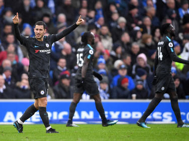 Hazard volvió a demostrar su calidad lejos de Londres. (Foto: Getty)