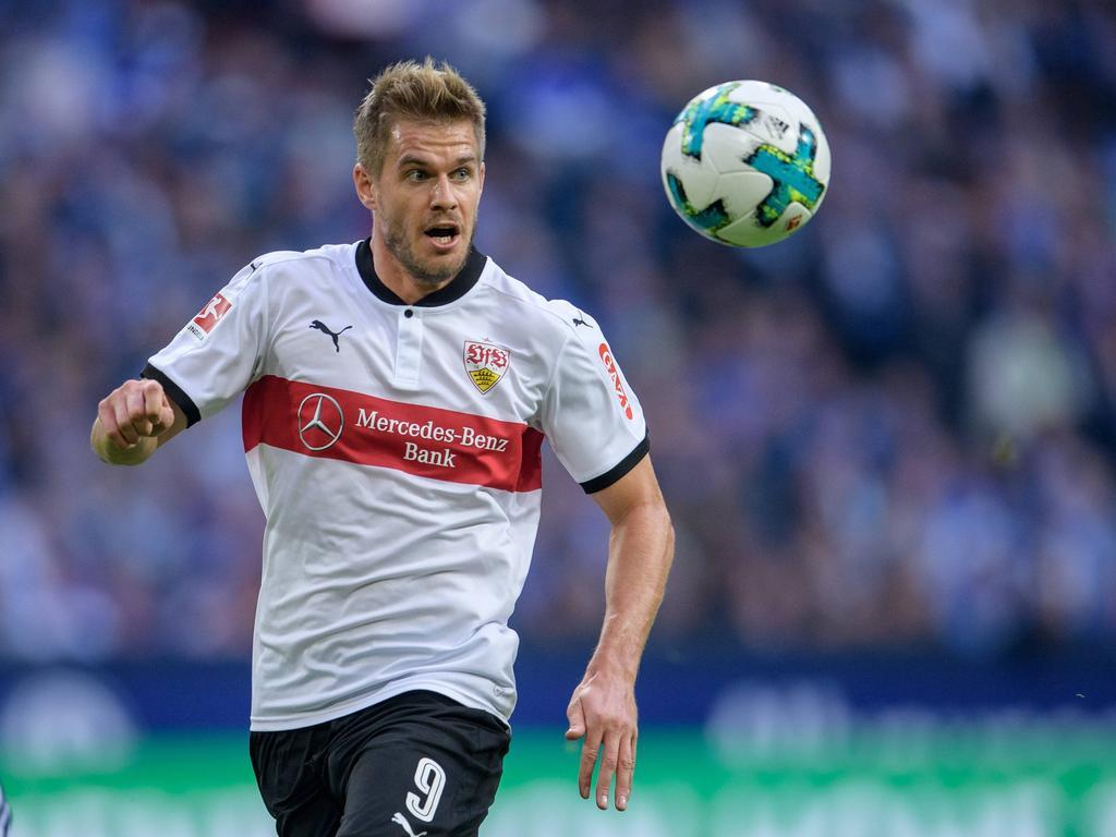 Simon Terodde wartet noch auf seinen ersten Bundesliga-Treffer
