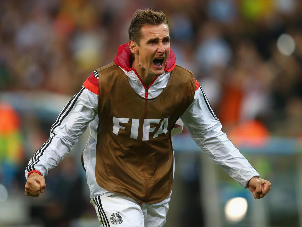 Miroslav Klose hängt nicht an seinem Rekord