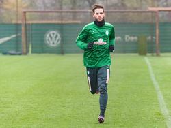 Justin Eilers konnte erstmals mit seinem neuen Team trainieren