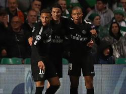 Paris' Top-Trio im Angriff: Neymar, Cavani und Mbappé