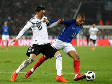 Mesut Özil und Kylian Mbappé sehen sich in der Nations League wieder